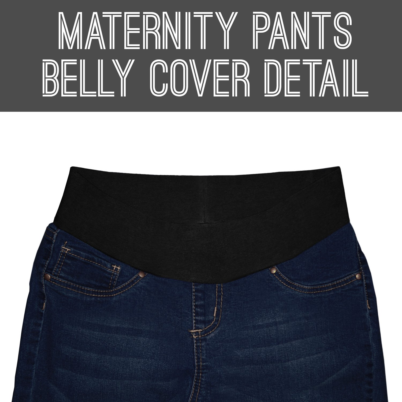 HyBrid /& Company Super Comfy Stretch Womens Skinny Maternity Jeans