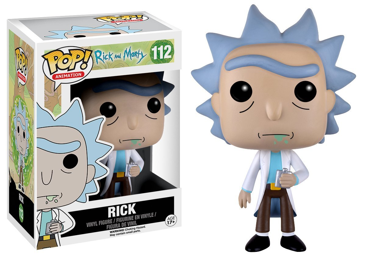 Amazon com funko pop animation rick morty rick action figure funko pop animation toys games