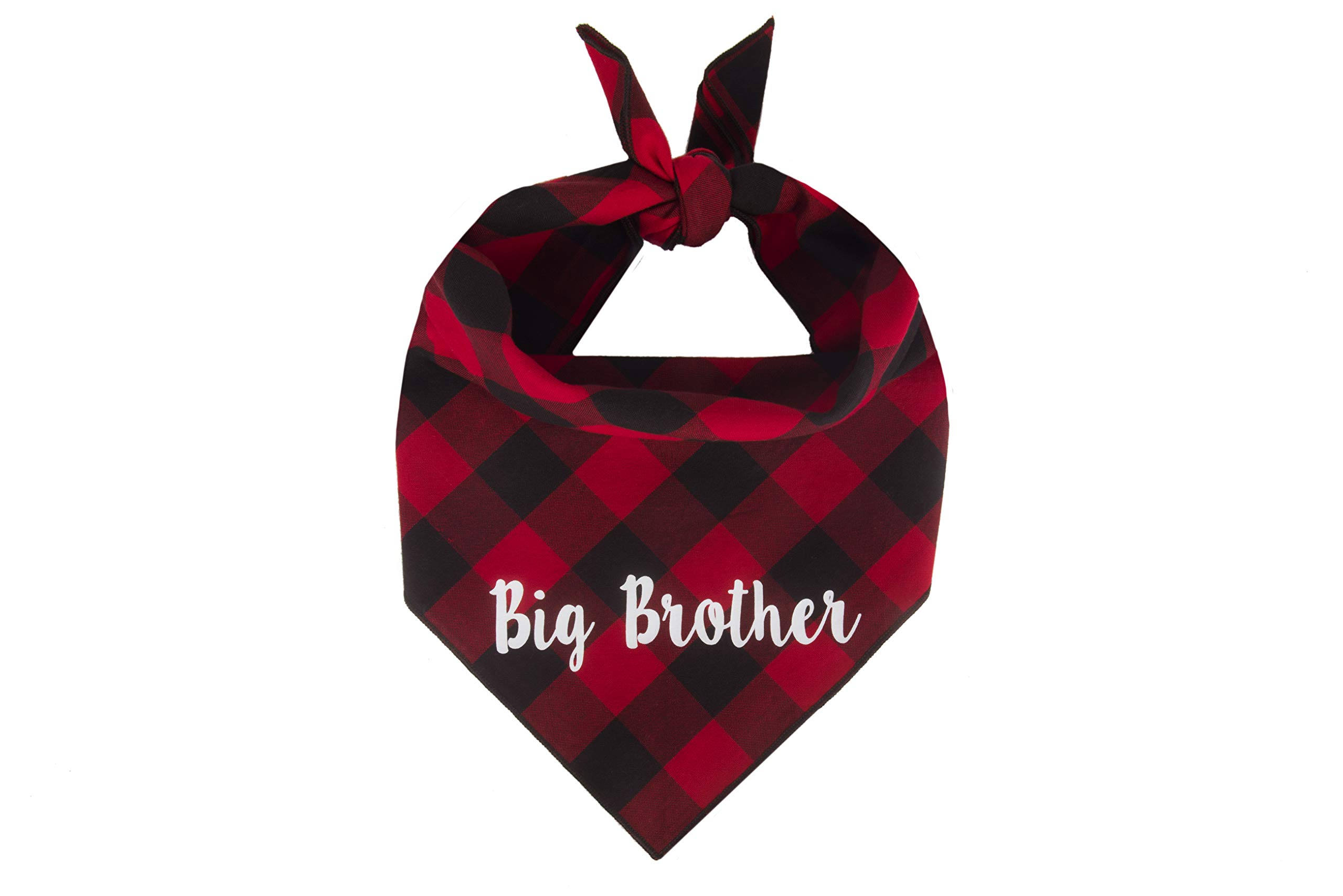 Willowear Dog Bandanas Big Brother Red Large by Willowear