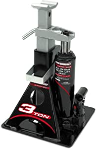 Powerbuilt Alltrade 640912 Black 3 Ton, All-in-One Bottle Jack