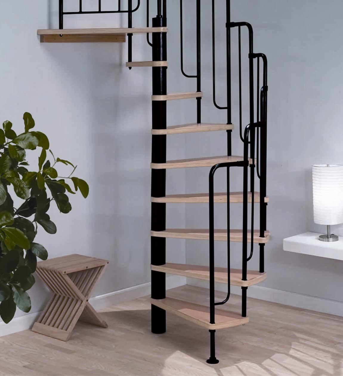 Dolle Barcelona – Escalera de Caracol Kit – negro metal-work (en stock): Amazon.es: Bricolaje y herramientas