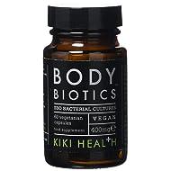 KIKI Health Body Biotics SBO Probiotic Formula - 60 x 400mg Vegetarian Capsules