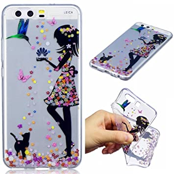 huawei p10 coque fille