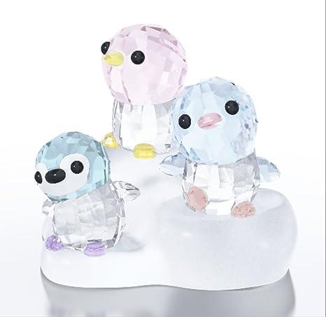 estilo clásico diseño unico captura Amazon.com: Swarovski SCS pingüino Base + 3 pingüinos: Home ...