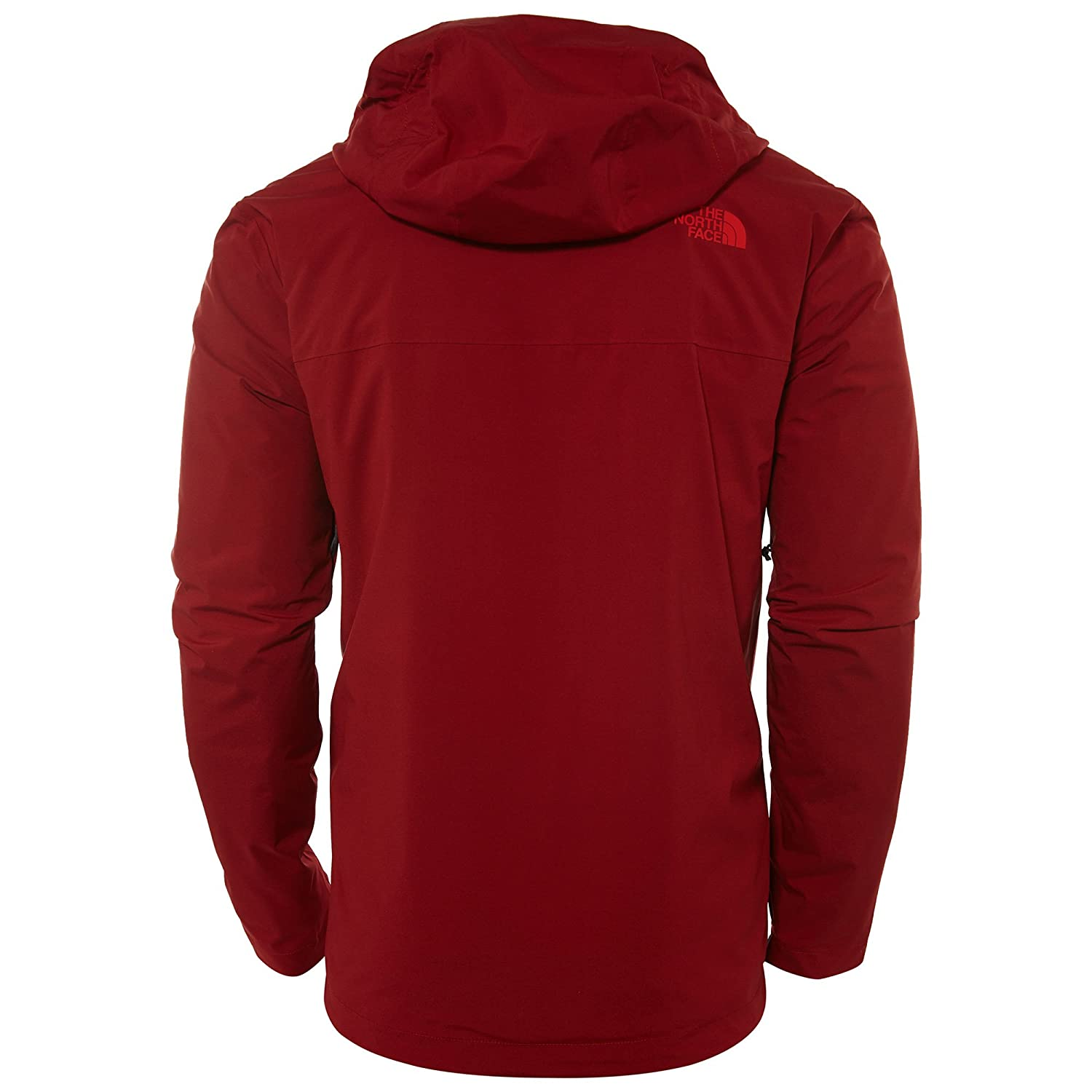 02af00b1f180 The North Face Thermoball Triclimate Jacket - Men s - Red -  Amazon.co.uk   Clothing