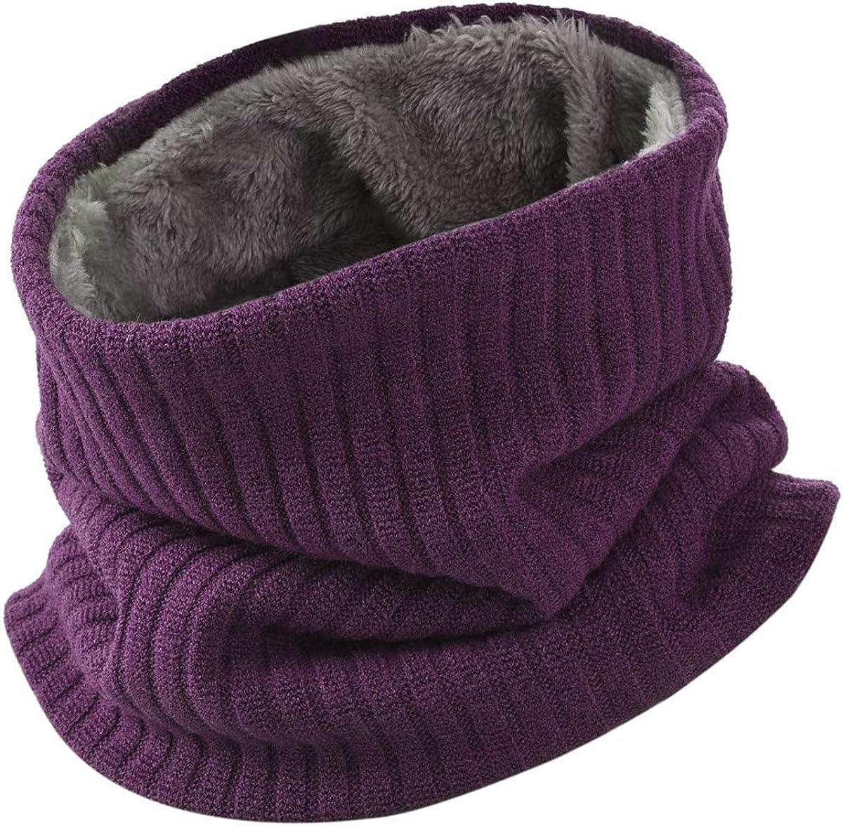HIDARLING Invernale Berretti in Maglia con Sciarpa Invernale Beanie Set Cappello in Lana Sintetica Calda per Uomo//Donna