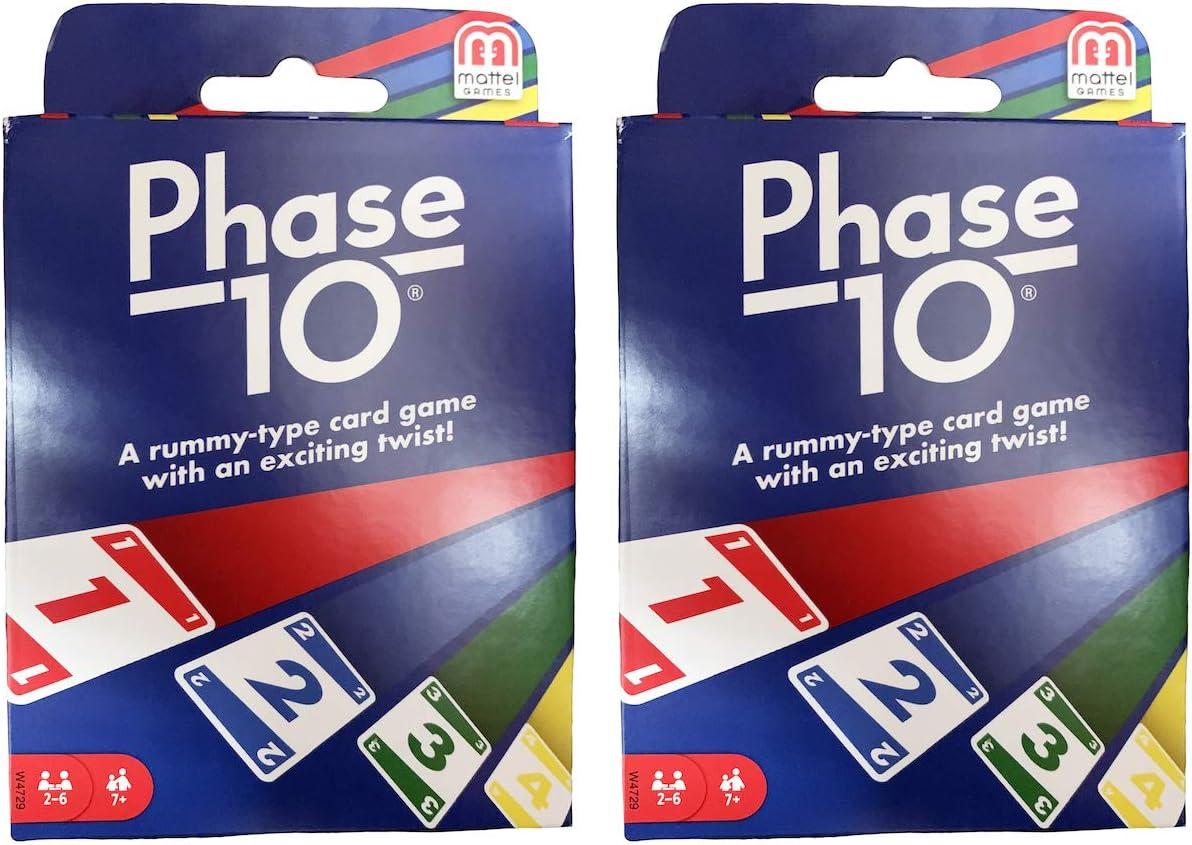 Mattel PHASE 10 Card Game FFY05