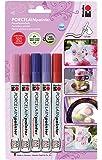 Marabu 012300081 - Set de rotuladores para porcelana [Importado de Alemania]