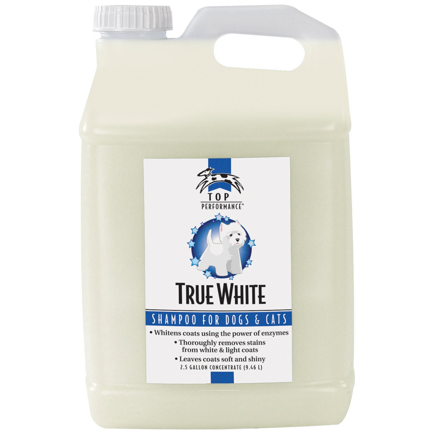 Top Performance TP True White Whitening Shampoo 2.5Gal by Top Performance