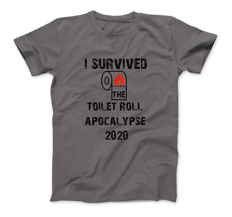I Survived The Great Toilet Paper Crisis Of 2020 Fun Humor T-Shirt Sweatshirt Hoodie Tank Top For Men Women Kids