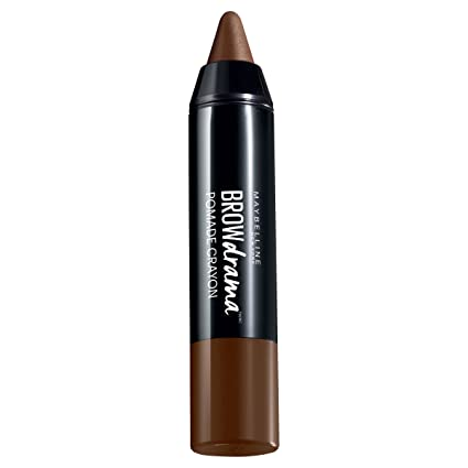 Maybelline Brow Drama, Máscara De Cejas, Medium Brown 002-1 Máscara De Cejas