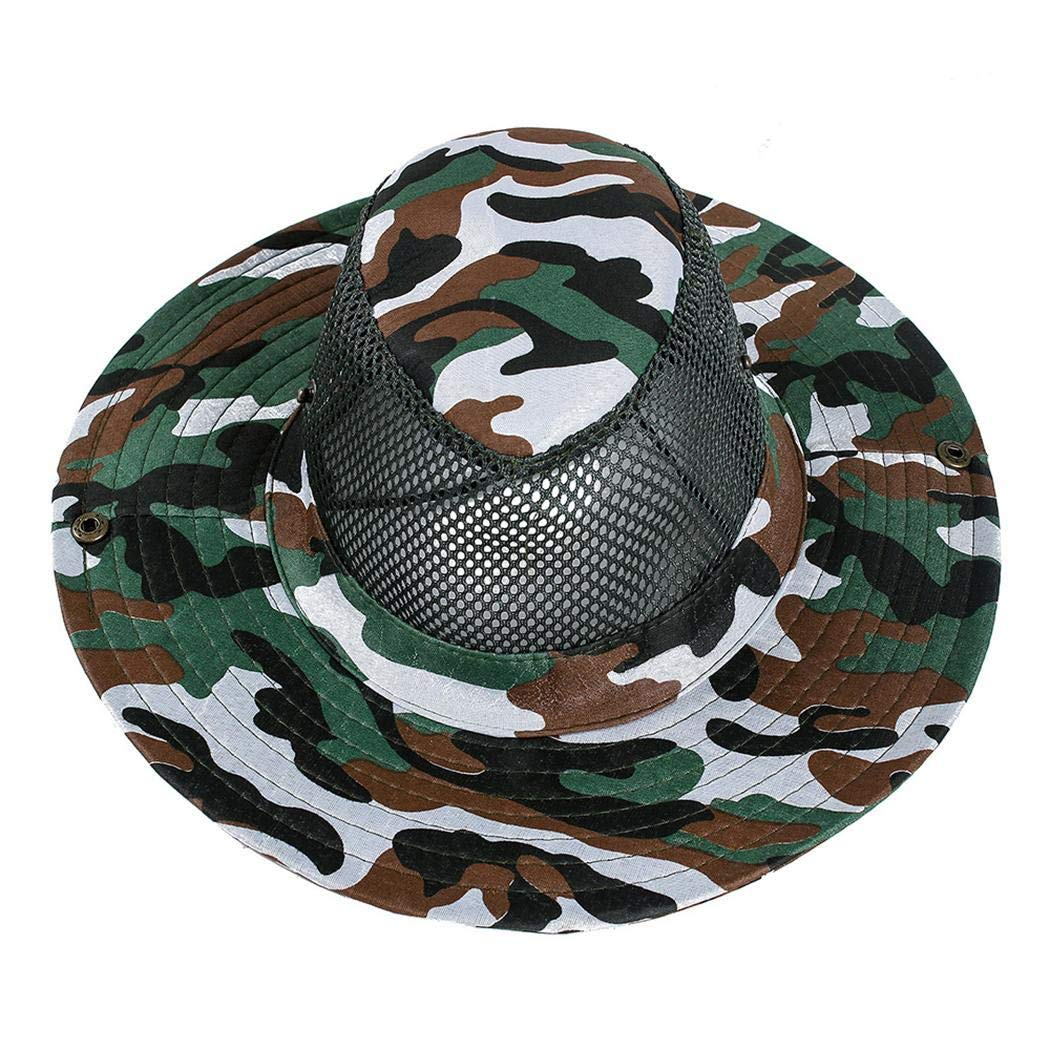 Xixini Men Fashion Summer Spring Outdoor Sun Protection Mountaineering Hat Sun Hat Cap