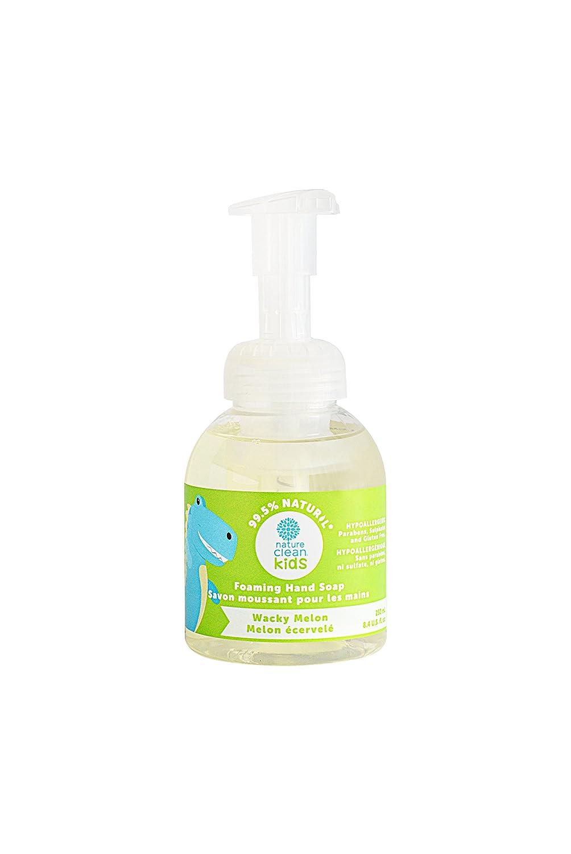 Nature Clean Kids Foaming Hand Soap, Wacky Melon, 1 Count, 0.3 kg P8K71