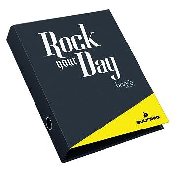 Bultaco 14567 - Archivador, 40 mm rock your day: Amazon.es: Oficina y papelería