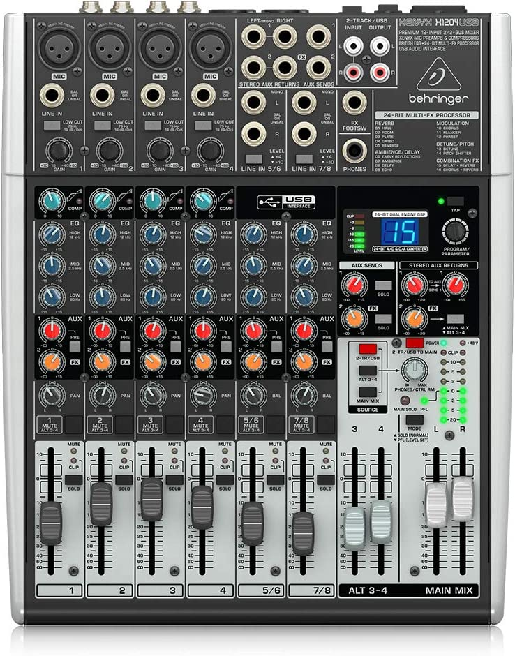 front facing Behringer X1204USB Xenyx