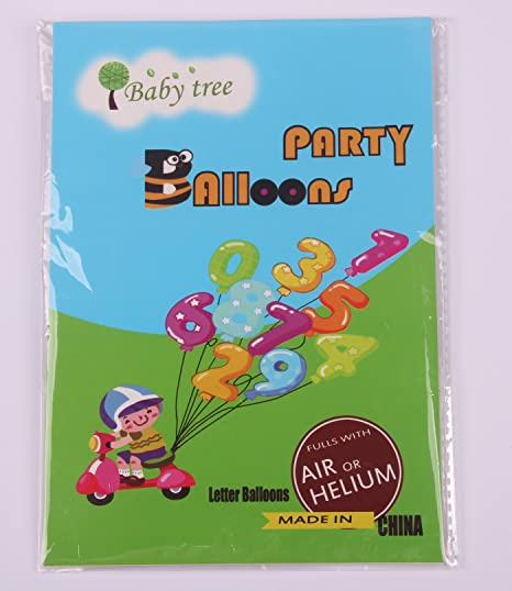 Amazon Babytree Gold And Silver 40 Numbers 0 9 Foil Balloons Birthday Party Q1501gold401 Toys Games