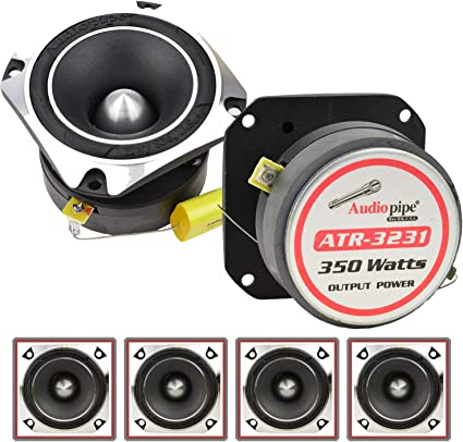 "Audiopipe ATR-4061 2/"" 600W Titanium Super Car Audio Tweeter Heavy Duty ATR4061"