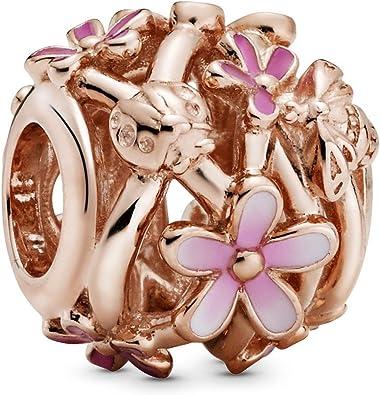 charm pandora rosa preziosa