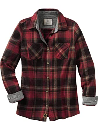 30899cea1554 Legendary Whitetails Ladies Cottage Escape Ladies Flannel Forest Plaid  X-Small