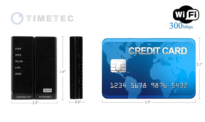 Amazon.com: Timetec 4 in 1 300Mbps Wireless N WiFi Travel Mobile ...