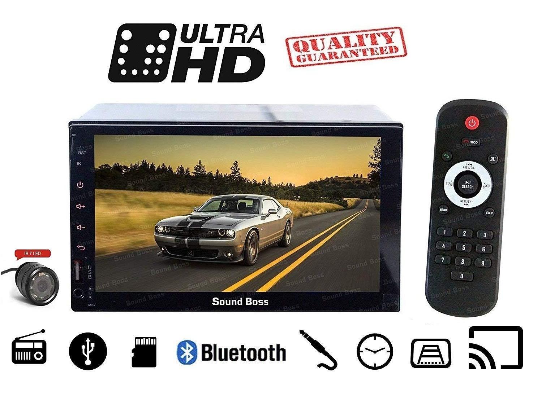 Sound Boss SB-9318+RVC 7-inch HD Touch Screen Bluetooth Car