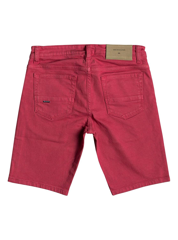 1a6d9da2731 Quiksilver Distorsion Colours - Denim Shorts for Boys 8-16 EQBDS03058   Quiksilver  Amazon.co.uk  Clothing