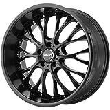 "Helo HE890 Satin Black Wheel (20x8.5""/5x114.3mm, +35mm offset)"