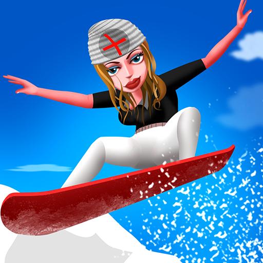 Nurse Vacation Winter Fun : das Snowboard kalt Sport Mädchen Wochenende - Premium