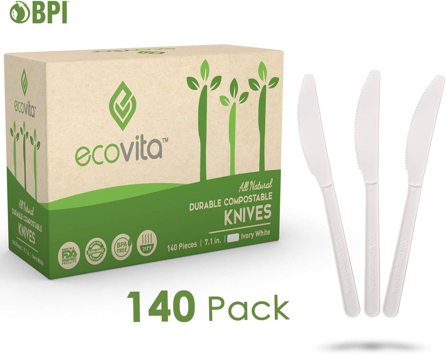 Compostables Biodegradable desechables cubertería juego de ...