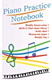 Piano Practice Notebook
