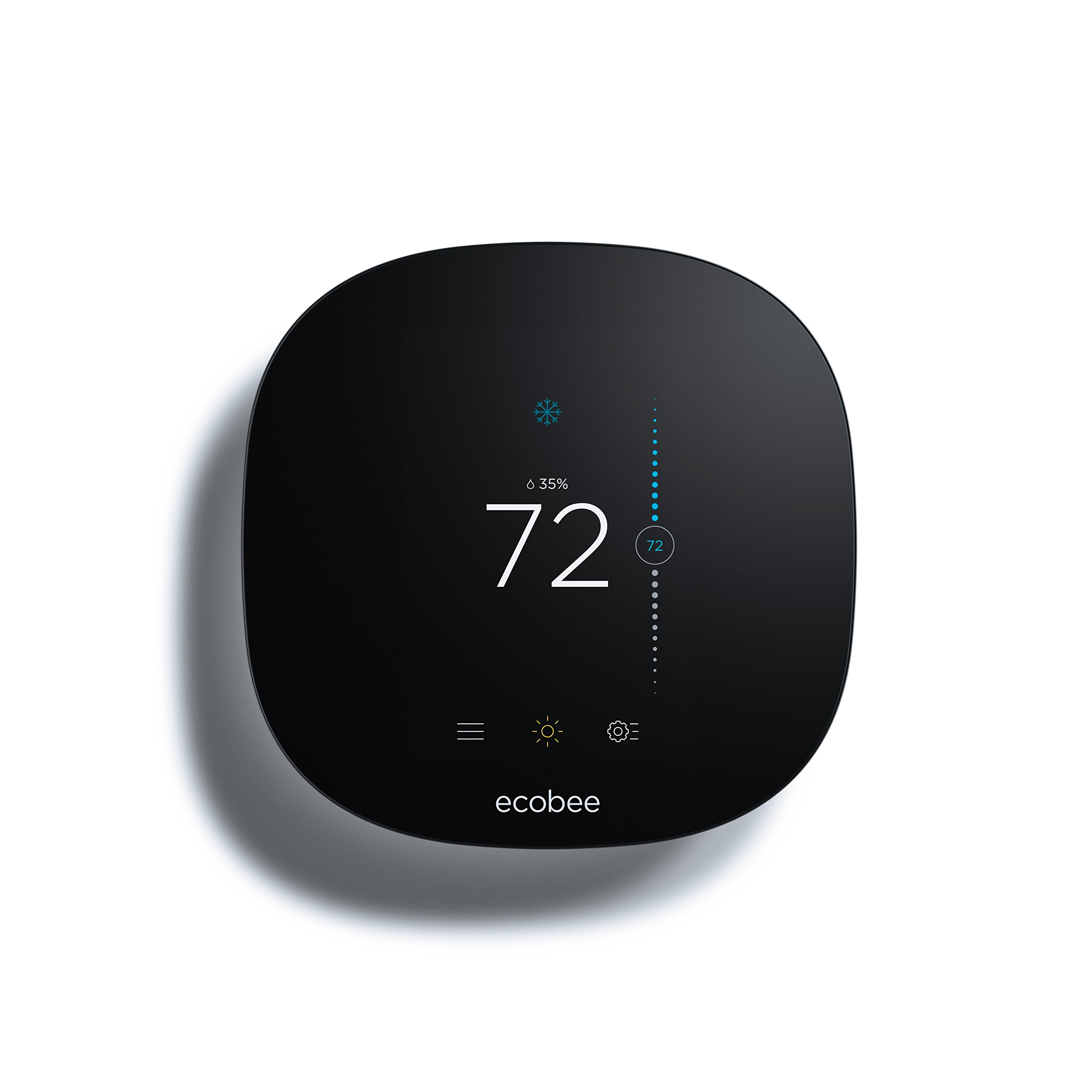 Ecobee3 Lite Thermostat, Wi-Fi, Works with Amazon Alexa by ecobee (Image #1)