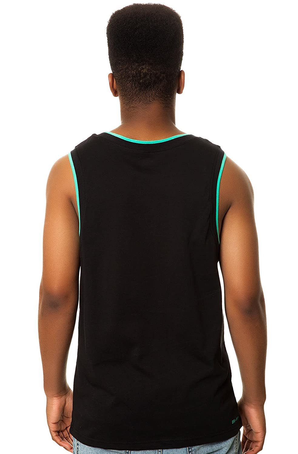 41cb8698a5e2a Nike SB Varsity Dri Fit Tank (Black Crystal Mint) Tank Top  Amazon.ca   Clothing   Accessories