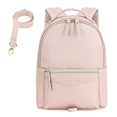 mommore Fashion Toddler Backpack Travel Kids Backpack with Small Toddler Leash, Pink | Kids' Backpacks