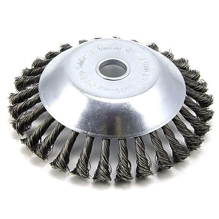 Cepillo redondo para desbrozadora de 200 x 25,4 mm: Amazon.es ...