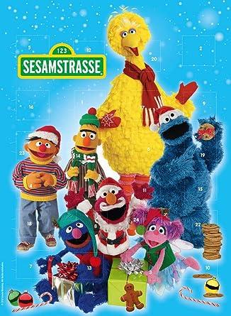 12d5dbaaa9 Adventskalender Sesamstrasse Schokolade Weihnachtskalender Kinder  Weihnachten