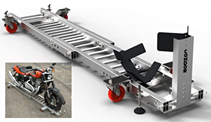 Amazon Com Condor Motorcycle Garage Dolly For Wheel Chock Trailer