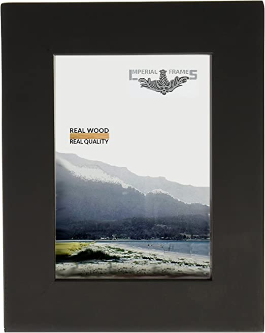 Amazon.com: Marco para fotos Diploma o Cartel, madera maciza ...