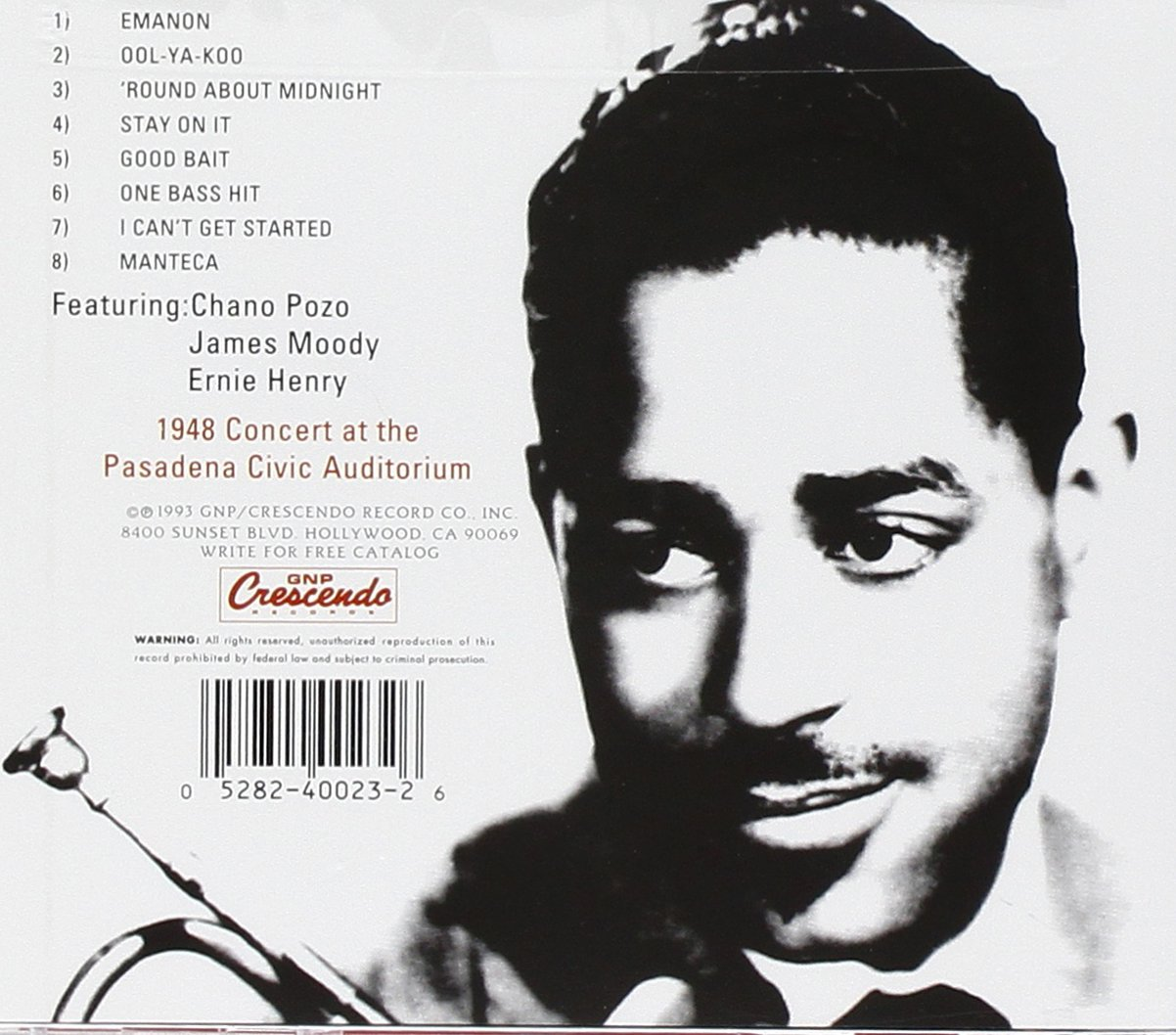 Dizzy Gillespie And His Big Band (Live) by manteca