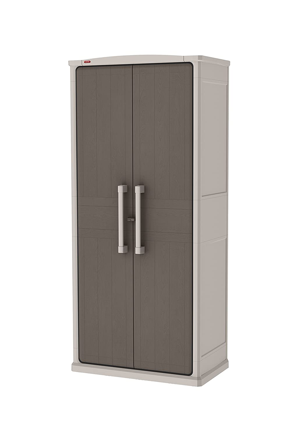Keter Optima Wonder Outdoor 17200531- Armario para exteriores, de 47, 3 x 80, 5 x 177, 8 cm: Amazon.es: Jardín