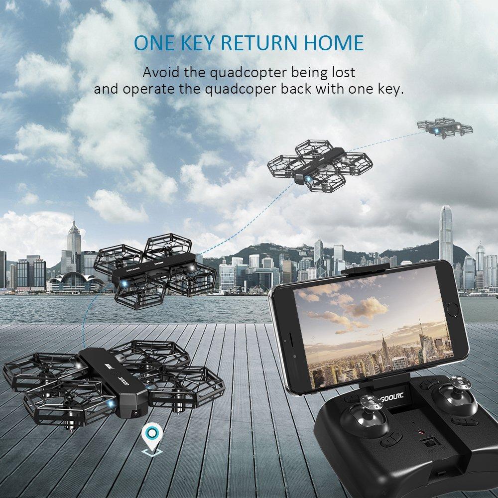 Dron GoolRC T908W comprar barato al precio minimo de oferta con cupón descuento. ✅ Con envío GRATIS ✅ Libre de aduanas para España.
