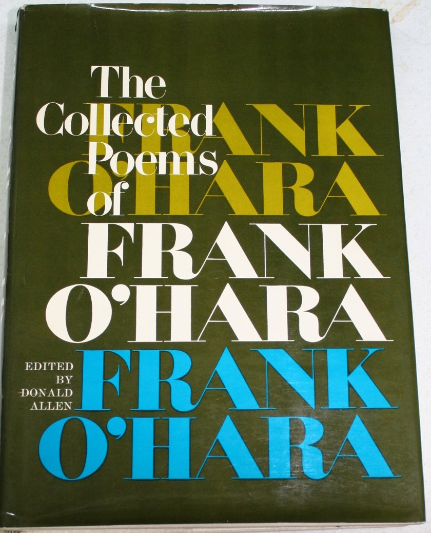The Collected Poems Of Frank Ohara Amazoncouk Frank O