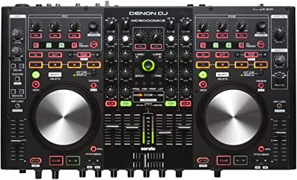 Amazon.com: Denon DJ MC6000MK2 | controladora y mezcladora ...
