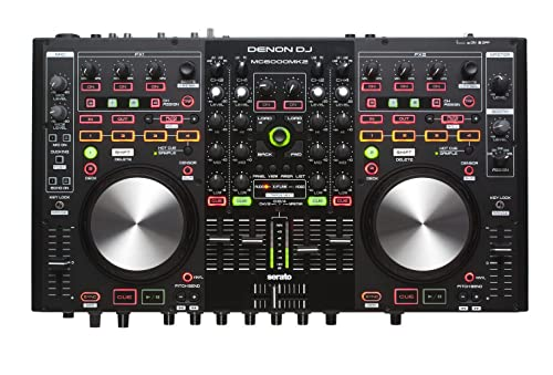 Denon DJ MC6000MK2 | Premium Digital DJ Controller & Mixer