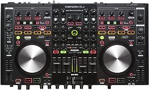 Denon DJ MC6000MK2 | Premium Digital DJ Controller & Mixer with full Serato DJ Pro Download Voucher (4-Channel / 4-Deck / 8-Source)