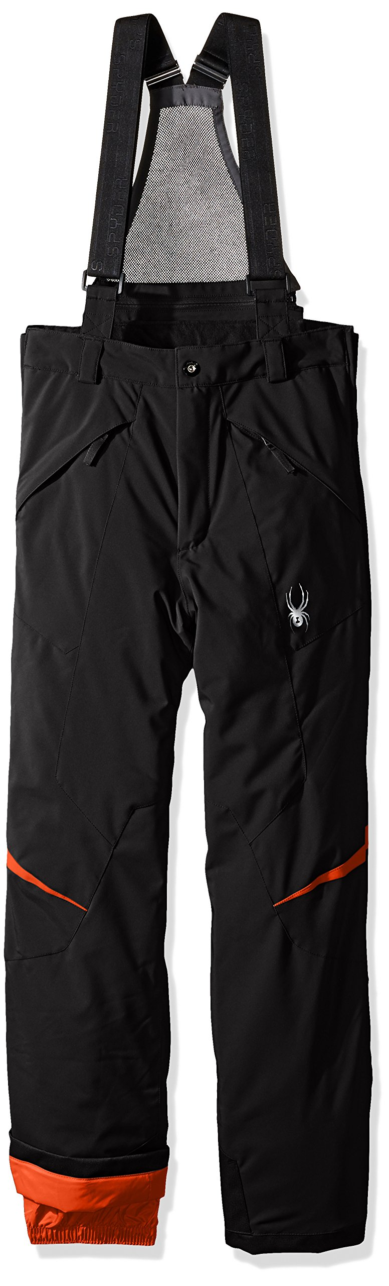 Spyder Boys Force Pants, Size 20, Black/Rage by Spyder