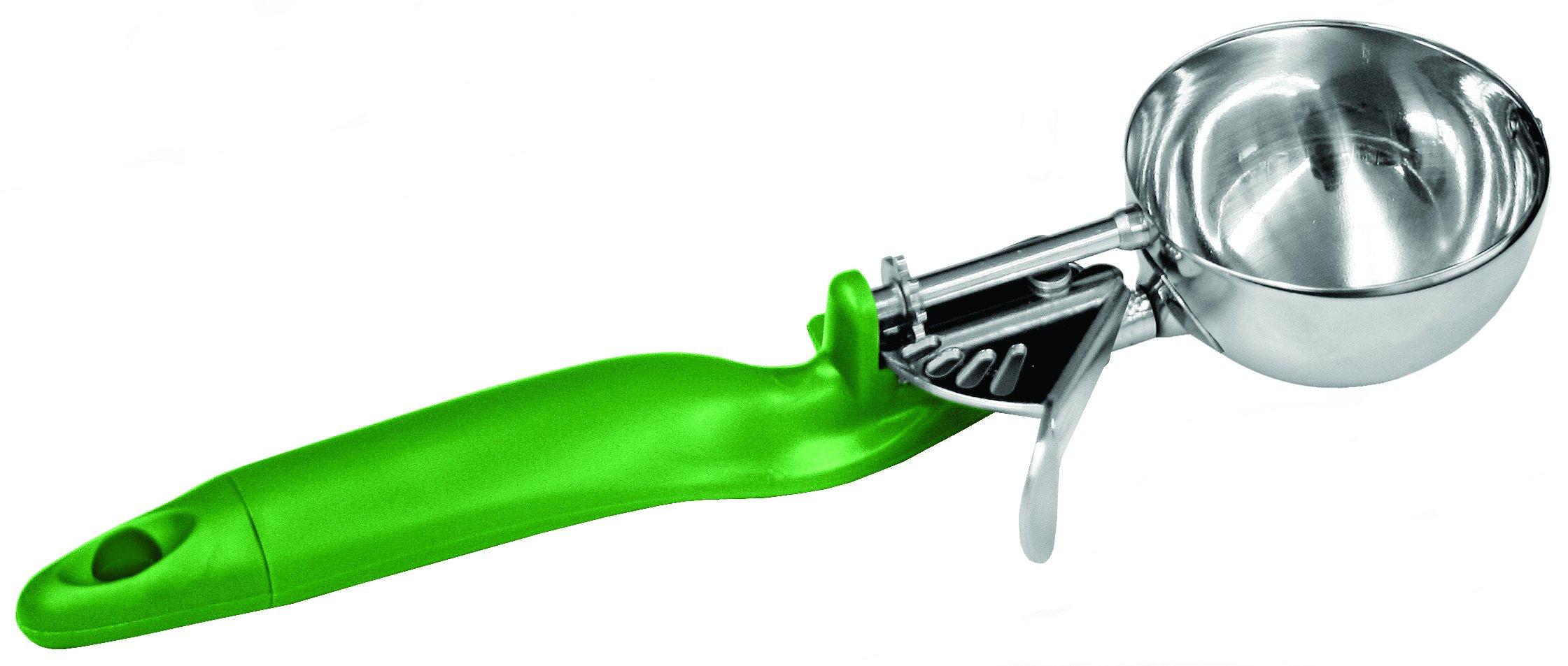 Excellante Lever Dasher, 2.67 oz, Green Ergo Handle