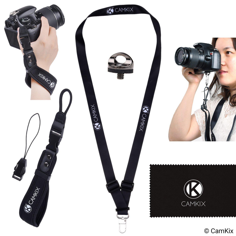 Correa de muñeca y cordón para cámaras DSLR y compactas – Extra Fuerte y Duradero –