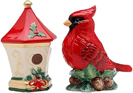 Cardinal Red Bird Salt Shaker