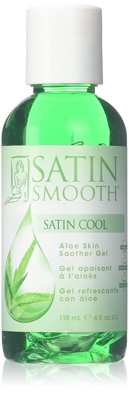 SATIN SMOOTH Cool Aloe Vera Skin Soother 4-Ounce 0074108264138