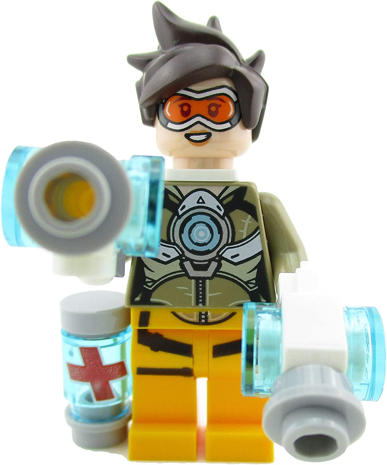 LEGO Overwatch Tracer Minifigure 75970 Mini Fig
